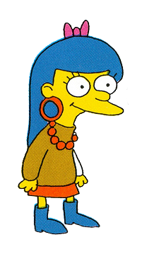 the simpsons girl characters porn