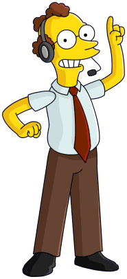 Artwork of Arnie Pye from The Simpsons: Tapped Out