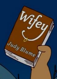 Judy blume wifey