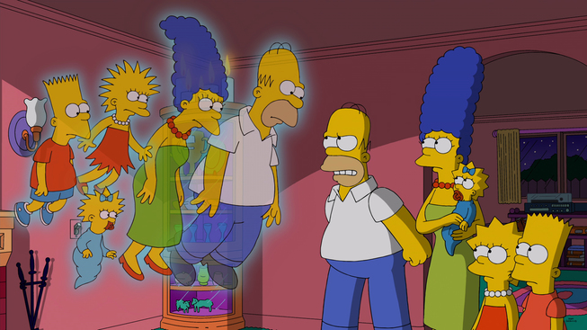 """The Simpsons: """"Treehouse Of Horror XXV"""" 25th Anniversary 10-19-14"""