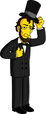 Abraham Lincoln Wikisimpsons The Simpsons Wiki