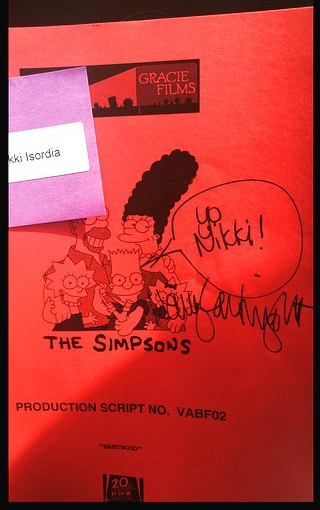 The script cover of the episode