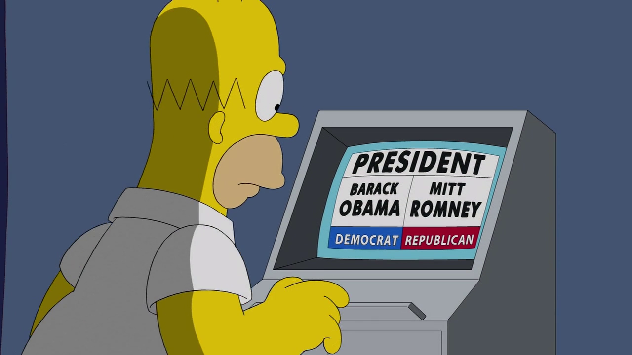 Homer in 2012