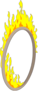 Tapped Out Flaming Hoop.png