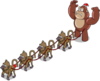 Tapped Out Inflatable Gorilla and Baboons.png