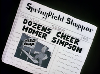 Springfield Shopper - Dozens Cheer Homer Simpson.png