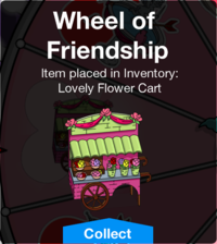 Tapped Out Lovely Flower Cart Unlocked.png