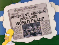 Shopper President Homer Declares World Peace.png