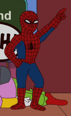 spiderman wikisimpsons the simpsons wiki