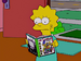 Lisa with the Simpsons guide.png