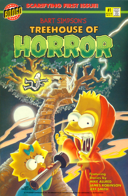 Bart Simpson's Treehouse of Horror 1 (Front Cover).png