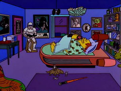Comic Book Guy bedroom.png